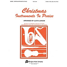 Fred Bock Music Christmas Instruments in Praise (C Instruments (Flute, Oboe & Others)) Instructional Series