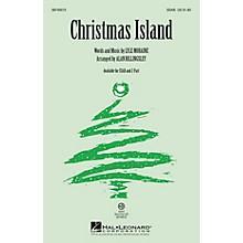 Hal Leonard Christmas Island 2-Part by Brian Setzer Arranged by Alan Billingsley