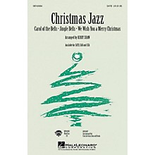 Hal Leonard Christmas Jazz (Collection) SAB Arranged by Kirby Shaw