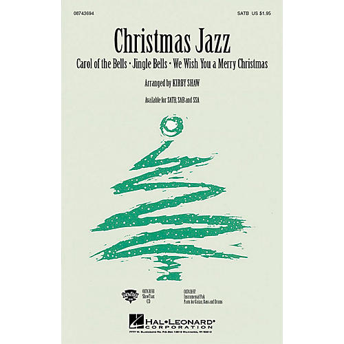 Hal Leonard Christmas Jazz (Collection) ShowTrax CD Arranged by Kirby Shaw