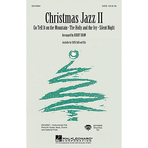 Hal Leonard Christmas Jazz II (Collection) SAB Arranged by Kirby Shaw