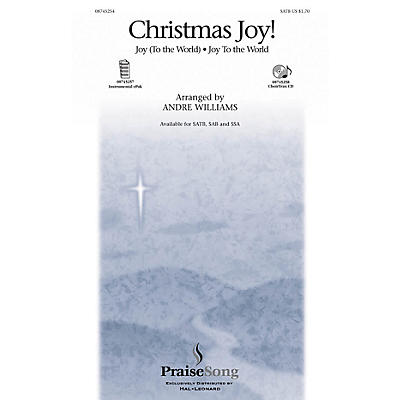 PraiseSong Christmas Joy! SATB arranged by Andre Williams