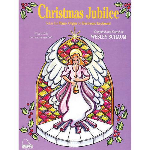 SCHAUM Christmas Jubilee (Level 3 Early Inter Level) Educational Piano Book