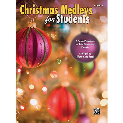Alfred Christmas Medleys for Students Book 1