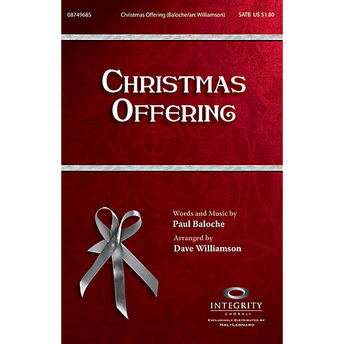Integrity Choral Christmas Offering CD ACCOMP Arranged by Dave Williamson