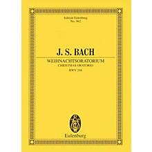 Eulenburg Christmas Oratorio, BWV 248 Study Score Composed by Johann Sebastian Bach Arranged by Arnold Schering