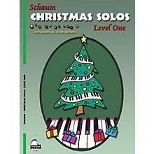 SCHAUM Christmas Solos (Level 1 Elem Level) Educational Piano Book