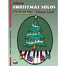 SCHAUM Christmas Solos (Primer Level Early Elem Level) Educational Piano Book