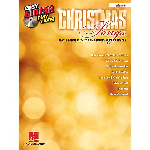 Hal Leonard Christmas Songs - Easy Guitar Play-Along Volume 6 Book/CD