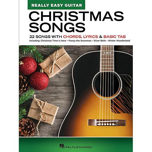 Hal Leonard Christmas Songs - Really Easy Guitar Series Songbook
