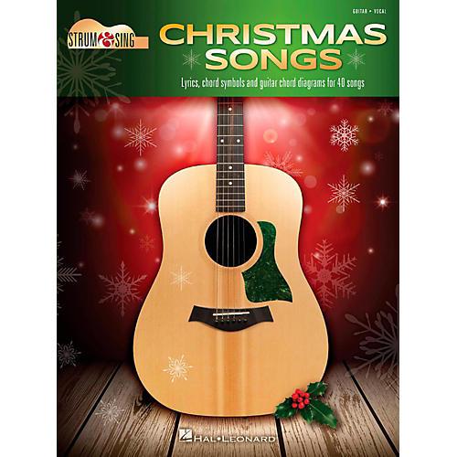 Hal Leonard Christmas Songs - Strum & Sing Guitar