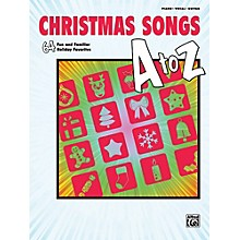 Alfred Christmas Songs A to Z  P/V/C Book