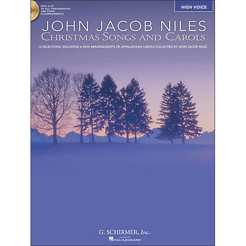 Hal Leonard Christmas Songs And Carols for High Voice Book/CD