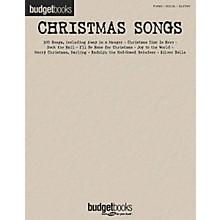 Hal Leonard Christmas Songs Budget Piano, Vocal, Guitar Songbook