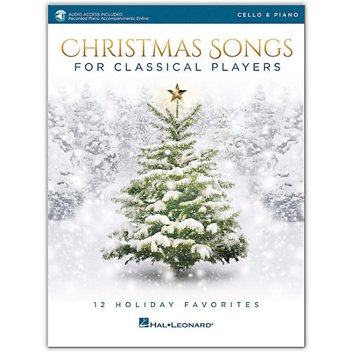 Hal Leonard Christmas Songs For Classical Players - Cello & Piano Book with Online Audio of Piano Accompaniments