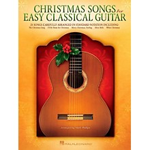 Hal Leonard Christmas Songs For Easy Classical Guitar (No TAB Notation)