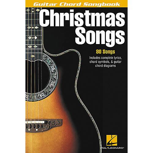 Hal Leonard Christmas Songs Guitar Chord Songbook
