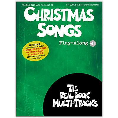 Hal Leonard Christmas Songs Play-Along Real Book Multi-Tracks Volume 10 Book/Audio Online