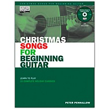 String Letter Publishing Christmas Songs for Beginning Guitar (Book/Online Audio)