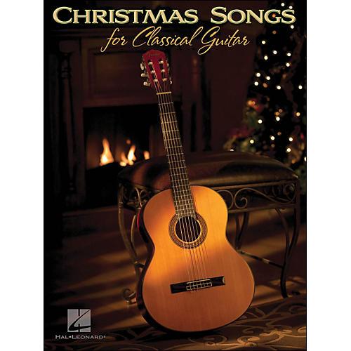 Hal Leonard Christmas Songs for Classical Guitar (Standard Notation & Tab)