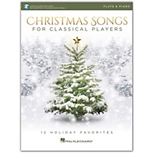 Hal Leonard Christmas Songs for Classical Players - Flute & Piano Book with Online Audio of Piano Accompaniments