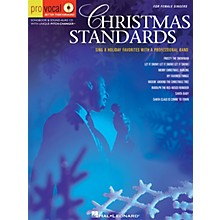 Hal Leonard Christmas Standards (Pro Vocal Men's Edition Volume 5) Pro Vocal Series Softcover with CD