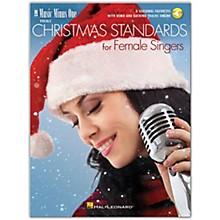 Hal Leonard Christmas Standards for Female Singers - Music Minus One Vocals (Book/Audio Online)