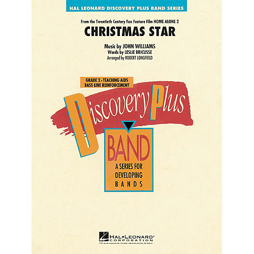 Hal Leonard Christmas Star (from Home Alone 2: Lost in New York) - Discovery Plus Band Level 2 arranged by Longfield