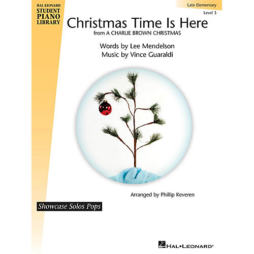 Hal Leonard Christmas Time Is Here Piano Library Series (Level Late Elem)