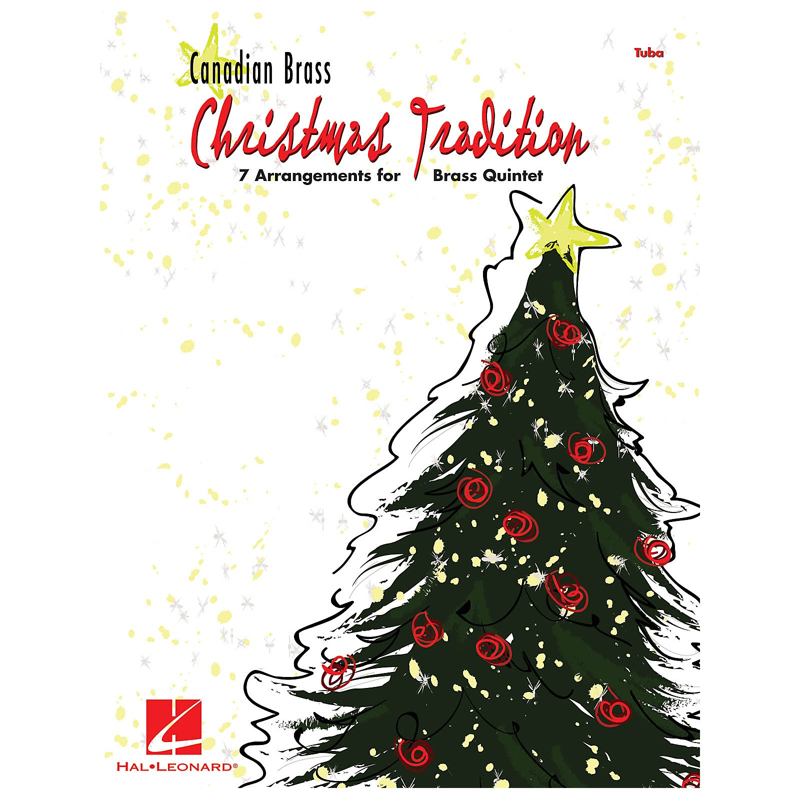 Hal Leonard Christmas Tradition (7 Arrangements for Brass Quintet - Tuba (B.C.)) Brass Ensemble Series by Various