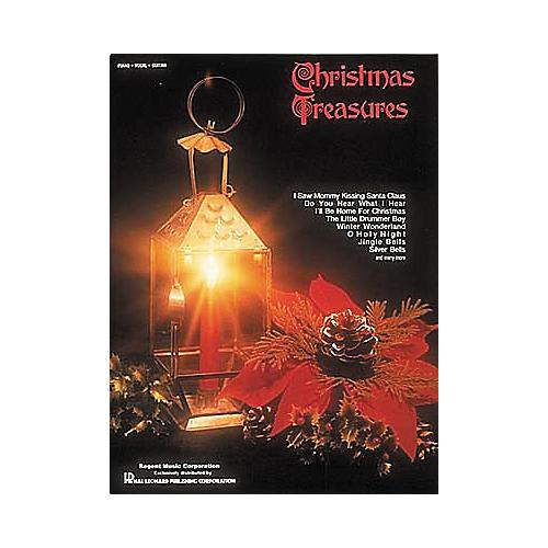 Hal Leonard Christmas Treasures Piano, Vocal, Guitar Songbook