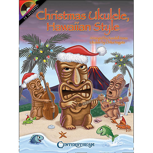 Centerstream Publishing Christmas Ukulele Hawaiian Style Book/CD