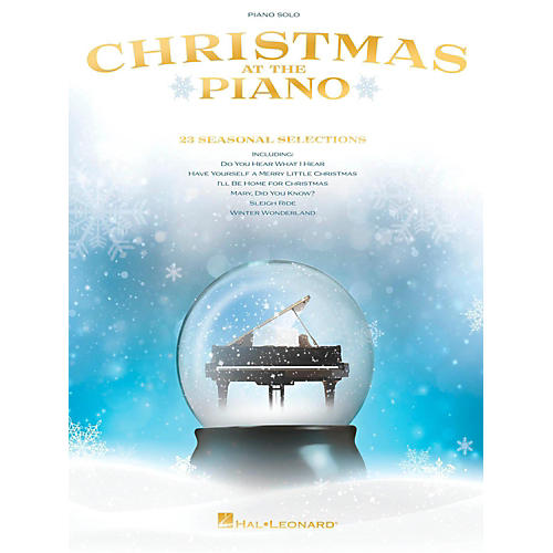 Hal Leonard Christmas at the Piano for piano solo