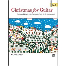 Alfred Christmas for Guitar In TAB