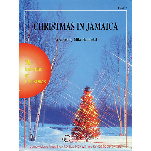 Curnow Music Christmas in Jamaica (Grade 2 - Score and Parts) Concert Band Level 2 Arranged by Mike Hannickel