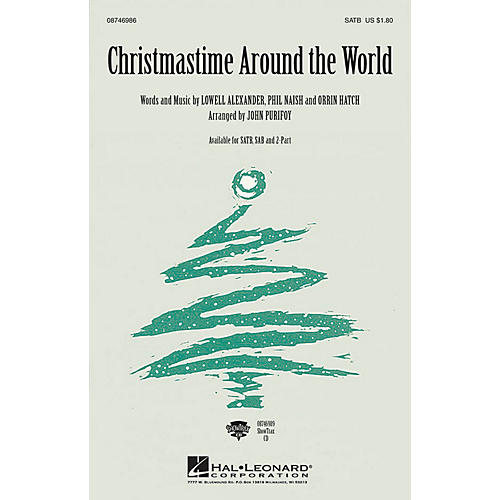Hal Leonard Christmastime Around the World 2-Part Arranged by John Purifoy
