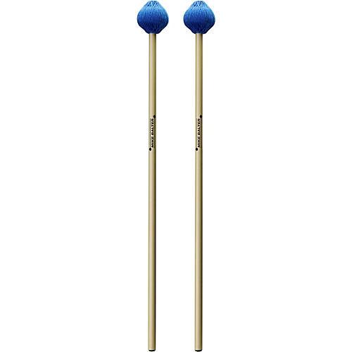 Balter Mallets Christos Rafalides Artist Series Rattan Handle Vibraphone Mallets Medium Hard Blue Cord