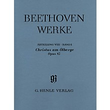 G. Henle Verlag Christus am Ölberge Op. 85 (Complete Edition with Critical Report) Score Composed by Ludwig van Beethoven