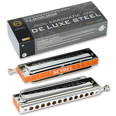 SEYDEL Chromatic DeLuxe Steel Orchestra Harmonica