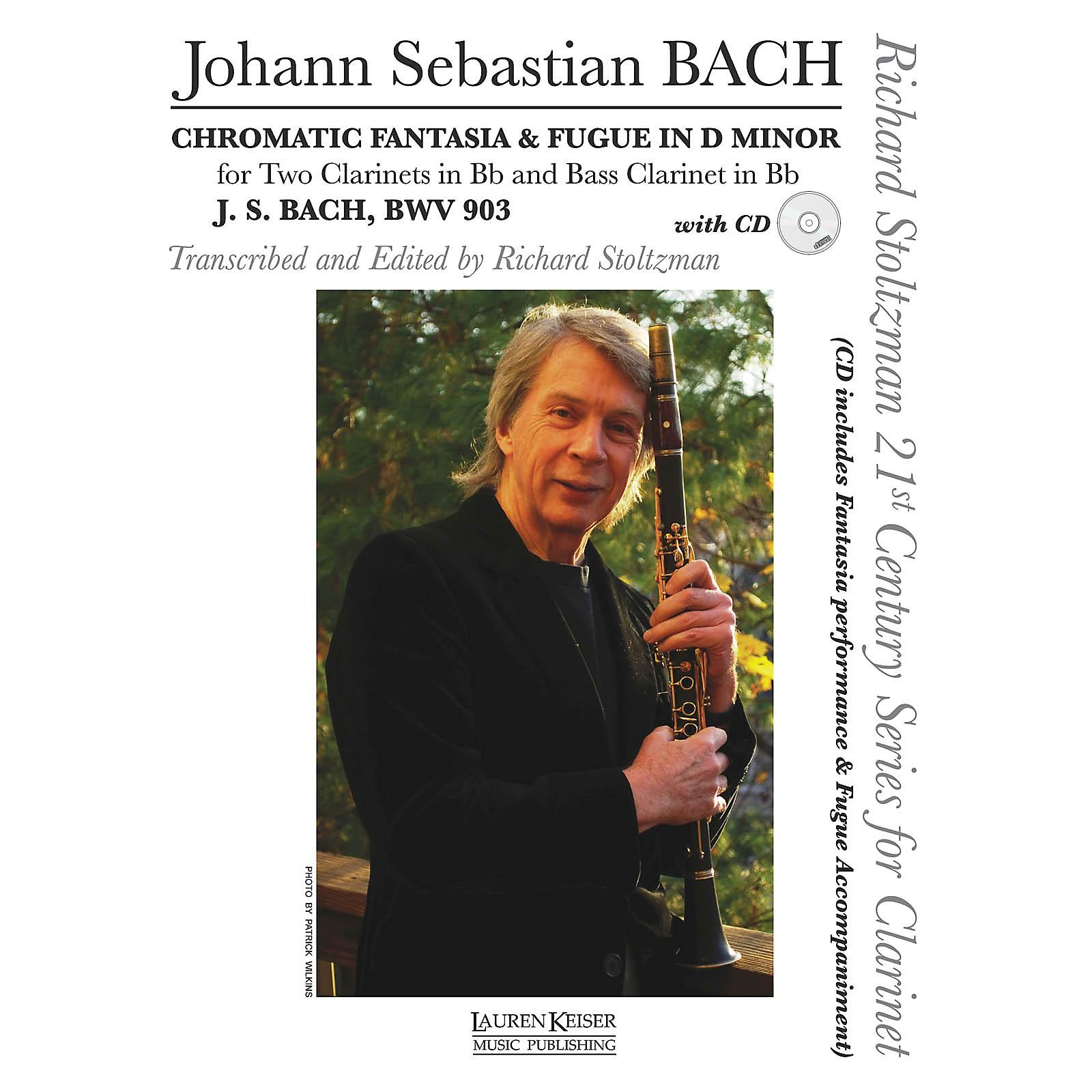 Lauren Keiser Music Publishing Chromatic Fantasia & Fugue in D minor, BWV 903 LKM Music Composed by Bach Arranged by Richard Stoltzman