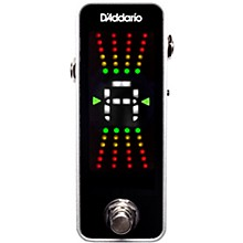 Open Box D'Addario Planet Waves CT-20 Chromatic Pedal Tuner Nickel