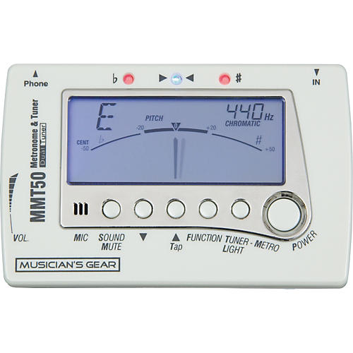 Musician's Gear Chromatic Tuner and Metronome