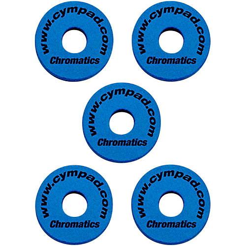 Cympad Chromatics Foam Cymbal Washer 5-Piece Crash Set Blue