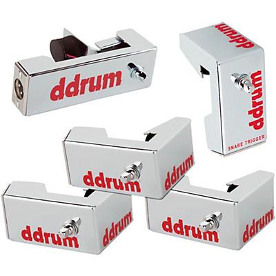 ddrum Chrome Elite Advanced Engineered Drum Triggers - 5-Piece Set