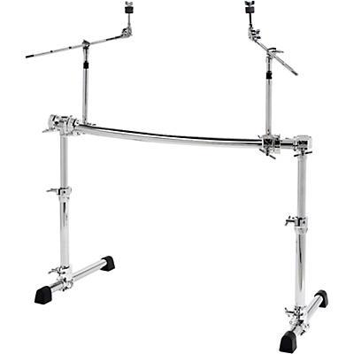 Gibraltar Chrome Series Height Adjustable Curved Rack