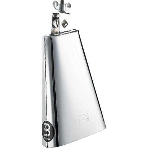 Meinl Chrome Steelbell Cowbell - Small Mouth 8 in.