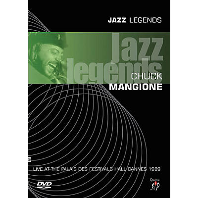 MVD Chuck Mangione - Jazz Legends: Live Live/DVD Series DVD Performed by Chuck Mangione