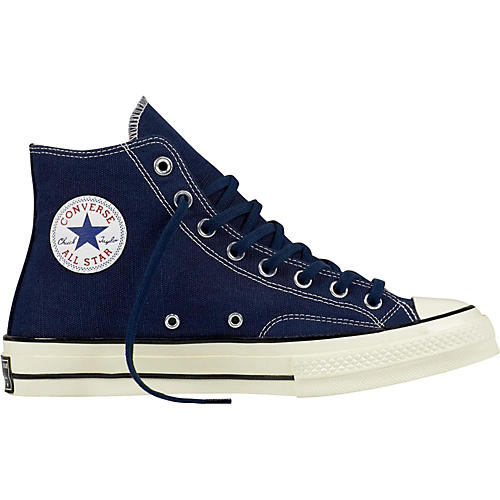 Converse Chuck Taylor All Star 70 s Hi Top Midnight Navy Black Egret ... 6aae8e4be