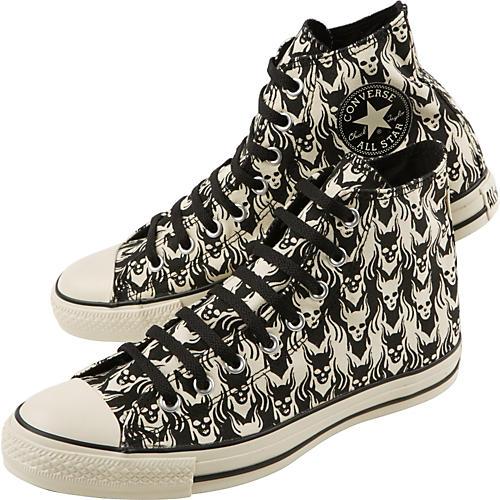Converse Chuck Taylor All Star Punk Print Black Hi-Tops