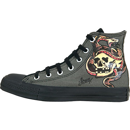 Converse Chuck Taylor All Star Sailor Jerry Hi-Tops with Snake/Skull